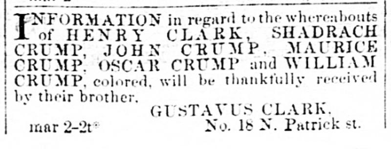 Alexandria Gazette. Alexandria VA. Mar 3 1871.jp2