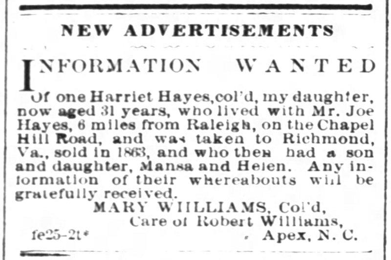 RALEIGHDAILYNEWS_18740225_WILLIAMS_MARY.jpg