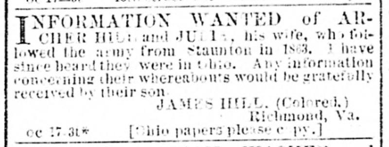 Daily Dispatch. Richmond VA Oct 17 1870.jp2