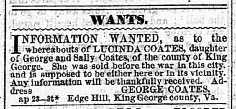 Daily Dispatch. Richmond VA. April 23 1868.jp2