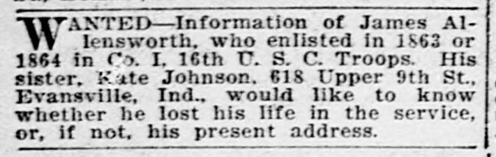 James Allensworth...National Tribune...Washington DC May 30 1907.jp2
