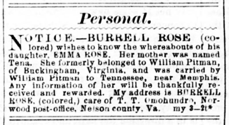 Daily Dispatch. Richmond VA. May 3 1867.jp2