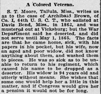 Archibald_Brown_National_Tribune_8APR1909.jpg