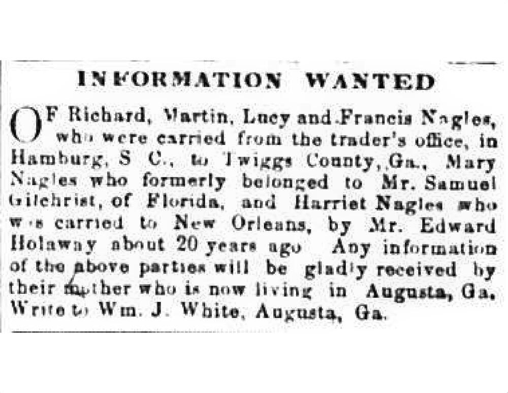Wm J White - The Loyal Georgian - Augusta, GA - Oct 13, 1866 - Vol I - No 39.jpg