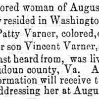 Patty Varner searching for her son Vincent Varner