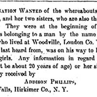 Addison Phillips seeks sisters-in-law