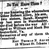 Rev. Thomas N. Allen