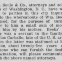 Las Vegas Weekly Optic and Stock Grower. East Las Vegas NM. Sep 30 1899.jp2
