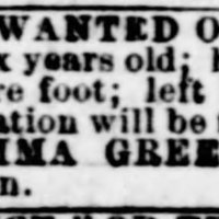 Emma Green searching for her son John Anderson