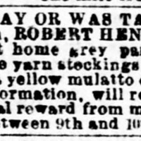 Evening Star. Washington DC. Lost and Found Ad. Oct 20 1863.jp2
