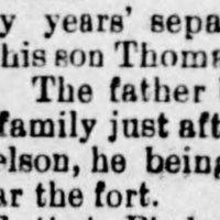 Hiram Jefferson reunited with son, Thomas, after 30 years