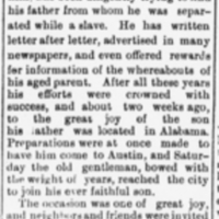 Rev. Mack Henson finds his father