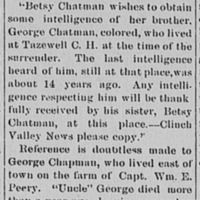 Clinch Valley News. Tazewell Courthouse VA Aug 26 1892.jp2