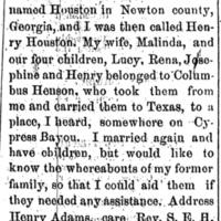 Henry Adams (Houston)