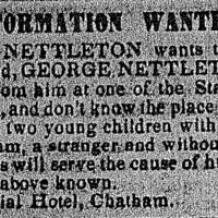 Ellen Nettleton searching for her husband