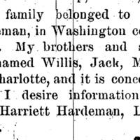 Harriett Hardeman