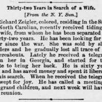 Richard Zeigler finds his wife after 32 years