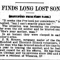 Margaret Young reunited with her son Dowen Young