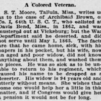 Julia Brown searching for veterans who knew Archie Brown